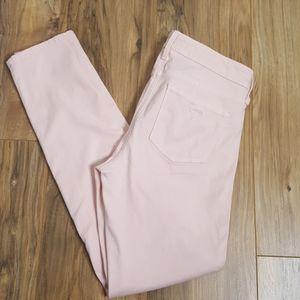 Guess Curve X Pink Skinny Pants